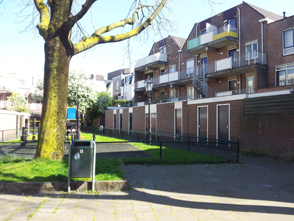 Binnentuin Wijk C Utrecht Herinrichting Leefomgeving