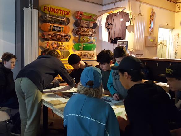 Jongerenparticipatie Co-creatie Skatebaan Skateontwerp LRCentrum