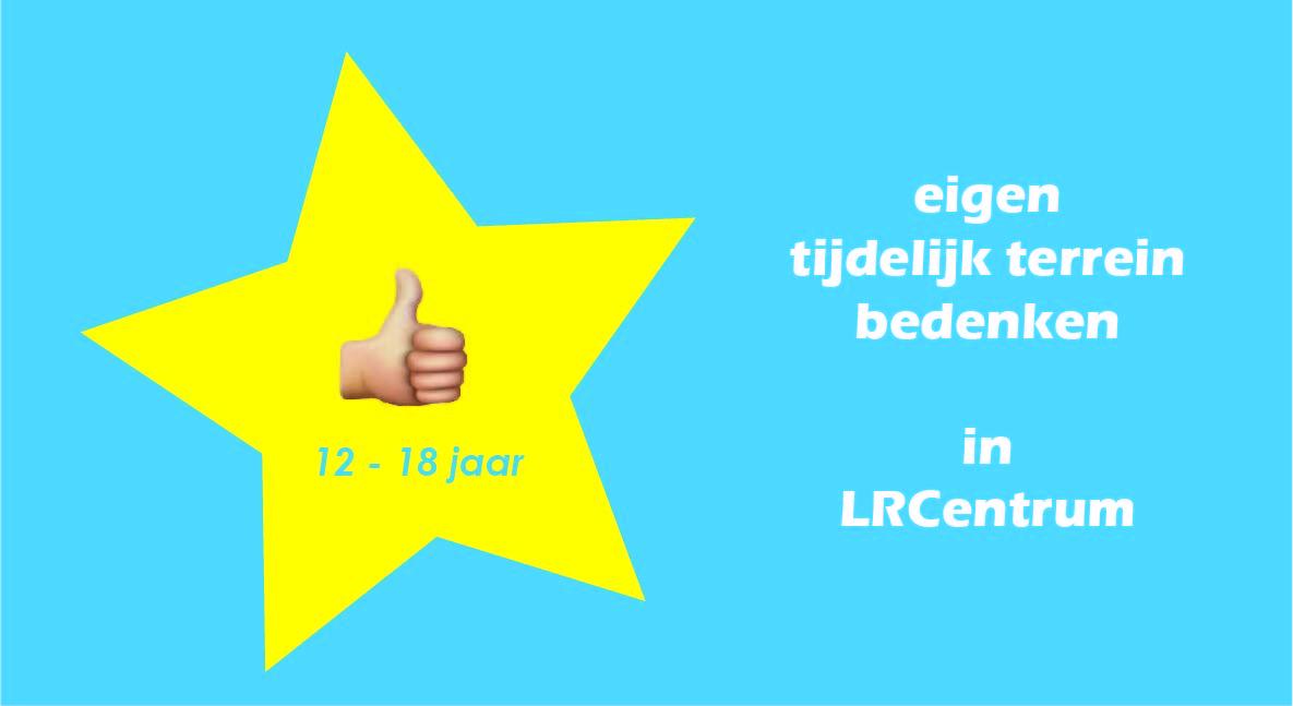 Jongerenparticipatie Co-creatie TIjdelijke terrein LRCentrum