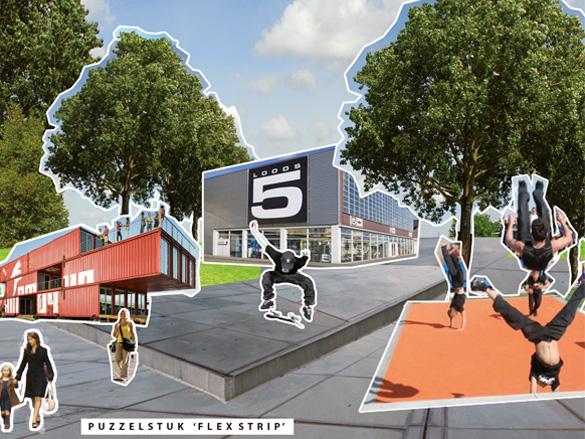 Bestemmingsplan Gebiedsontwikkeling Nieuwe Stijl Ontwerp Tijdelijke Terreinen Drijvende podium Cruquius Amsterdam