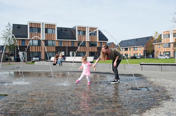 pleinontwerp stedenbouw ruimtelijke ordening krachtwijk VELVE-LINDENHOF