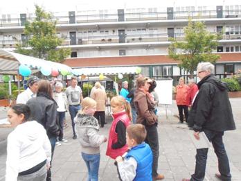 Bewoners komen met ideeën tijdens feestelijke middag op het Roerplein