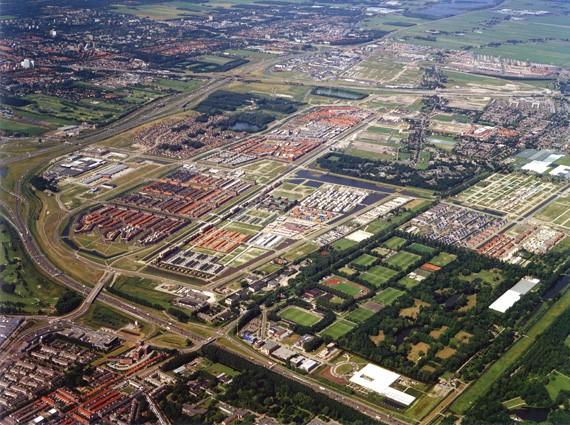 Luchtfoto Ypenburg, foto Palmbout Urban Landscapes
