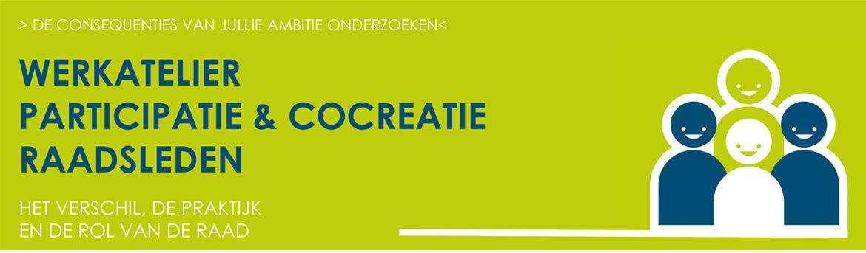 Gemeenteraad Training Participatie Cocreatie