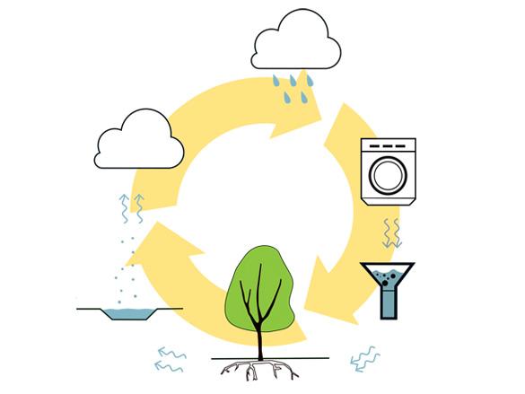 Circulair Watersysteem Hemelwaterafkoppeling GrijsWatercircuit Duurzaamheid