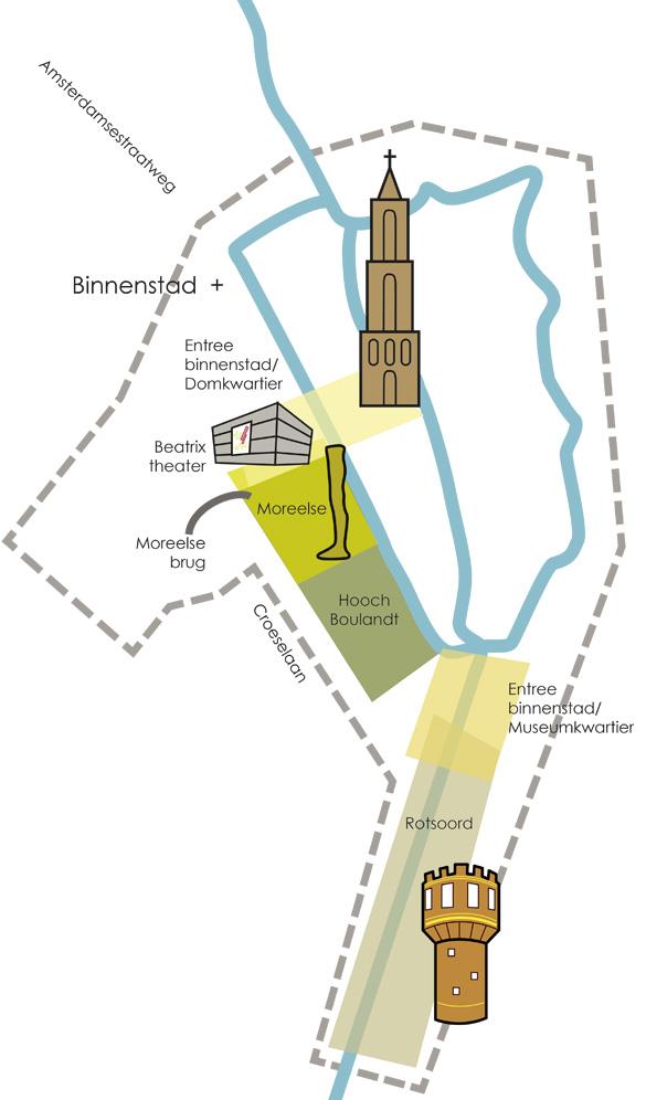 Nieuwe binnenstad Utrecht