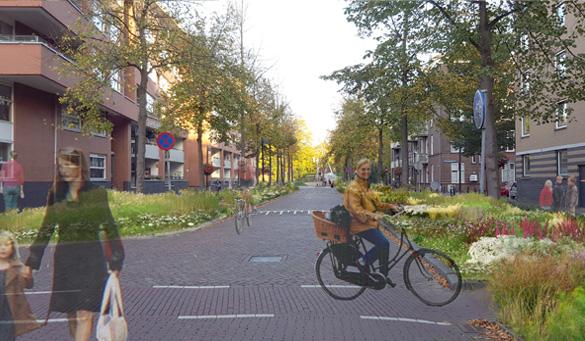 Kans toekomst binnenstad Utrecht fietsen-lopen